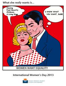 IWD 2013 Poster