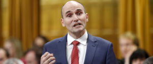 Canada's Families, Children and Social Development Minister Jean-Yves Duclos speaks during Question Period in the House of Commons on Parliament Hill in Ottawa, Canada, December 9, 2015. REUTERS/Chris Wattie