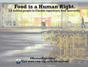 Food is a human right.