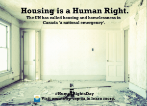Housing is a human right.